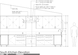 what height to hang cabinets design strategies for kitchen venting build
