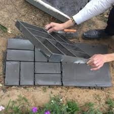 Stepping Stone Molds Uk by 8 9 Grid Driveway Stone Mold Paving Concrete Stepping Stone Mould