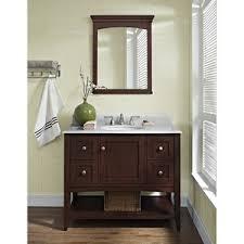 Fairmont Designs Bathroom Vanity Fairmont Designs Shaker Americana 42 Vanity Open Shelf Habana