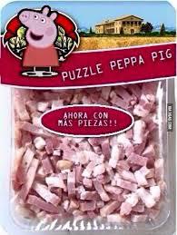 Peppa Pig Meme - peppa pig puzzle 9gag