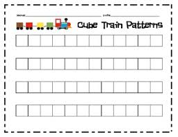 patterns in kindergarten pattern recording sheets cube apples pumpkins