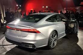 audi a7 new audi a7 revealed with major tech and refinement upgrades autocar