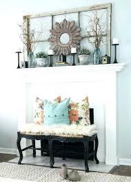 Fireplace Mantel Decorating Ideas Spring utnavifo