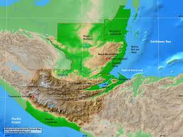 geographical map of guatemala belize and guatemala physical map a learning family