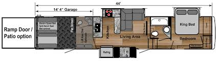 fuzion toy hauler floor plans 2016 new jayco 4250 seismic toy hauler in illinois il recreational