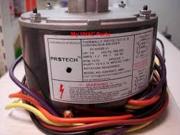 york ac condenser fan motor replacement 51 23055 11 rheem ruud 1 5th h p condenser fan motor