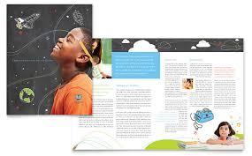 education foundation u0026 brochure template word u0026 publisher