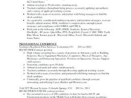 recruiter resume exle hr recruiter resume exles recruiter resume sle resume