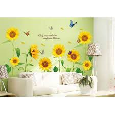 28 sunflower wall murals wall murals sunflowers pixersize sunflower wall murals sunflower removable room vinyl decal art wall home decor