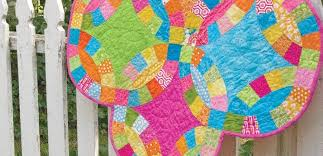 Double Wedding Ring Quilt by Double Wedding Ring Quilt Made Easy Accuquilt Accuquilt
