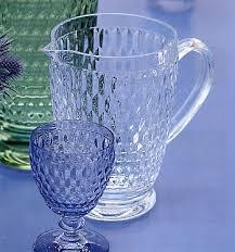 bicchieri villeroy bicchiere acqua vetro azzurro