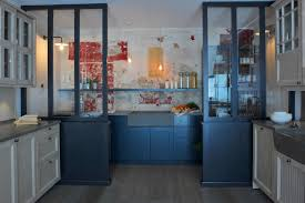 a meticulously designed galley kitchen atelier de paul