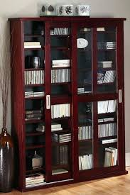 Living Room Cabinets With Glass Doors Media Cabinet With Door Sliding Barn Door Media Cabinet White Wall