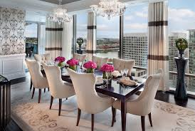 dining table arrangement dining rooms homes of the rich