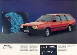 volkswagen brazilian 1989 vw quantum gl 2000 brasil brazilian classic cars