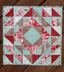 quilted square table toppers add color to your winter table with this lovely topper quilting digest