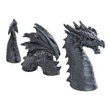Toscano Home Decor Amazon Com Design Toscano The Dragon Of Falkenberg Castle Moat
