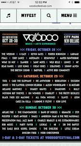best 20 voodoo fest lineup ideas on pinterest voodoo fest 2016