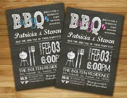 Couple S Shower Invitations Baby Shower Invitation Boy Baby Shower Bbq Barbecue Invite