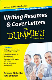wiley writing resumes and cover letters for dummies australia