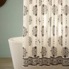 Blue Paisley Shower Curtain Paisley Shower Curtain Blue Shower Curtain Rod