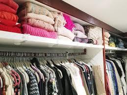 closet shelf divider design ideas