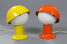 Esszimmerst Le Orange Nachttischlampen In Orange U0026 Gelb Von Sven Aage Holm Sørensen 2er