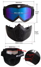 motocross protection gear wosawe men women windproof snowboard goggles ski glasses motocross