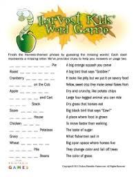 Printable Thanksgiving Games Adults Printable Thanksgiving Activities For Kids U2014 Printable Treats Com