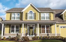 yellow exterior paint top house paint colors