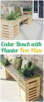 Diy Wooden Garden Bench by 367 Best Outdoor Diy Inspiration Images On Pinterest Furniture