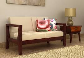 Two Seater Couch 2 Seater Sofa Buy Two Seater Sofa Online Upto 70 Off Woodenstreet