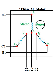 how to connect 3 phase motors in star and delta connection quora