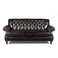 brighton leather living room sofa 8 way hand tied dark chocolate