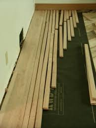 how to install hardwood flooring like a floorwright