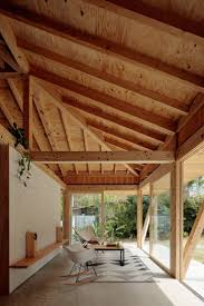 best images about japanese houses pinterest kenzo tange wooden framework extending towards the edges this house japan okinawa region features walls