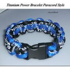 paracord braided bracelet images Power balance braided bracelet customized paracord titanium rope jpg