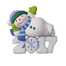 hallmark keepsake 2017 frosty decade snowman