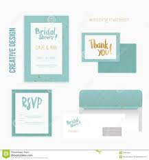 Invitation Card With Rsvp Set Of Wedding Invitation Cards With Thank You Card Rsvp Card