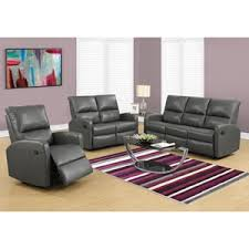 contemporary swivel recliner purple including coaster furniture