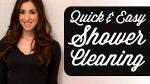 Best Way To Clean Up Hair In Bathroom How To Clean A Shower Clean My Space