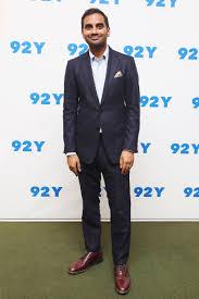 how aziz ansari mastered his minimalist wardrobe photos gq