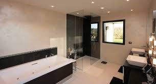 deco salle de bain avec baignoire réalisation salle de bain lancelin fils décorateur caen normandie