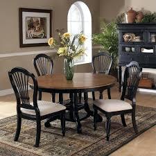 black round dining table set 7 piece round dining set 7 piece round dining table set in pine and