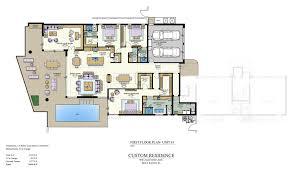 floor plans pier house