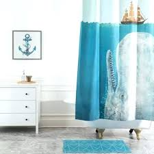 terry fan the whale art print ocean themed shower curtain full image for terry fan the whale