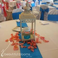 lantern centerpiece beautiful blooms by jen