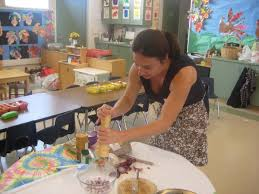 thanksgiving feast in the kindergarten classroom my wandering
