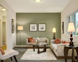 living paint colors olive green and white wall paint color combination for modern living