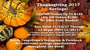tangodown inc thanksgiving promotions soldier systems daily